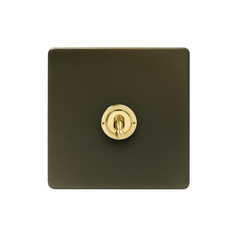 Bronze & Brushed Brass