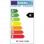 5 Pack - 8w E27 ES Opal GLS LED Light Bulb 4100K Horizon Daylight Dimmable