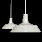 Argyll Industrial Pendant Light Clay White Cream - Soho Lighting