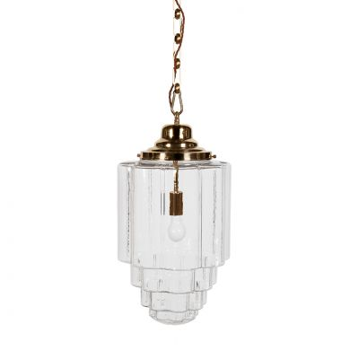 Glass Vintage Pendant Light