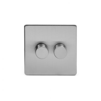 Brushed Chrome LED Dimmer