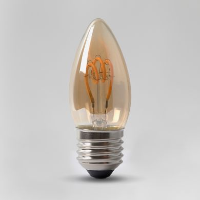 Vintage-Edison Style LED Candle