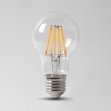8w E27 4100K Transparent Dimmable