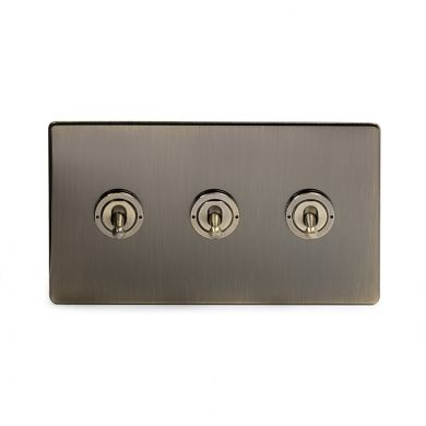 20A 3 Gang Intermediate Toggle Switch