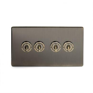 20A 4 Gang Intermediate Toggle Switch