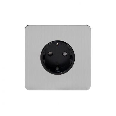 Flat Plate Euro socket