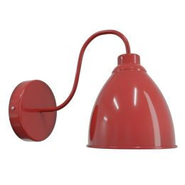 Red Wall Light - Oxford Vintage - Soho Lighting