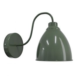 Olive Green Wall Light