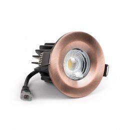 copper LED downlights
