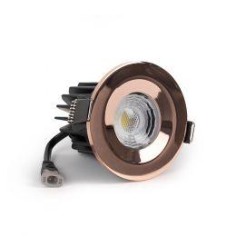Polished Copper LED Downlights
