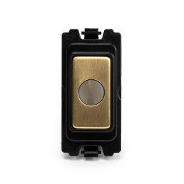 Soho-Lighting-Brushed-Brass-Flex-Outlet-Grid-Module