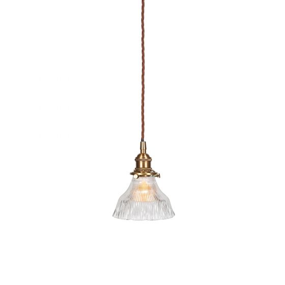 French Brass Pendant Light