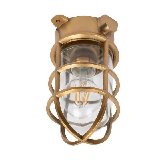 Brass Outdoor Ceiling Light