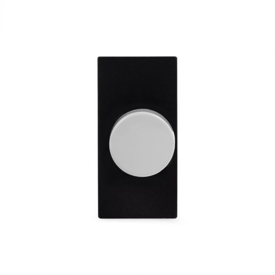 Soho Lighting White Metal 6A Dummy Dimmer Switch - Plate Module
