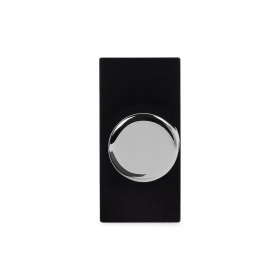 Soho Lighting Polished Chrome 6A Dummy Dimmer Switch - Plate Module