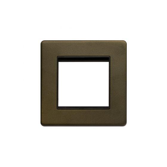 The Eton Collection Bronze Single Data Plate - 2 Mod Screwless