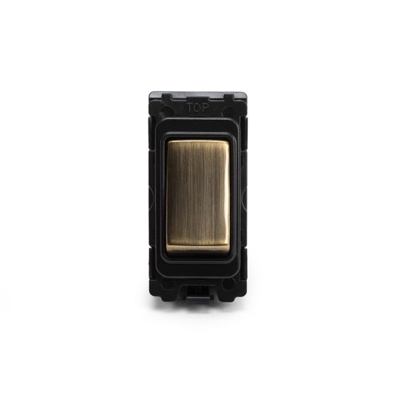 Soho-Lighting-Antique-Brass-20AX-Double-Pole-Grid-Switch