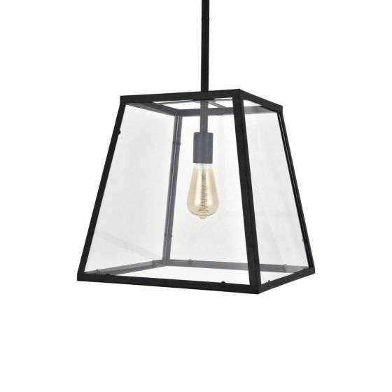 Glass lantern pendant Light
