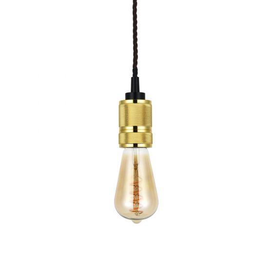Gold Bulb Holder