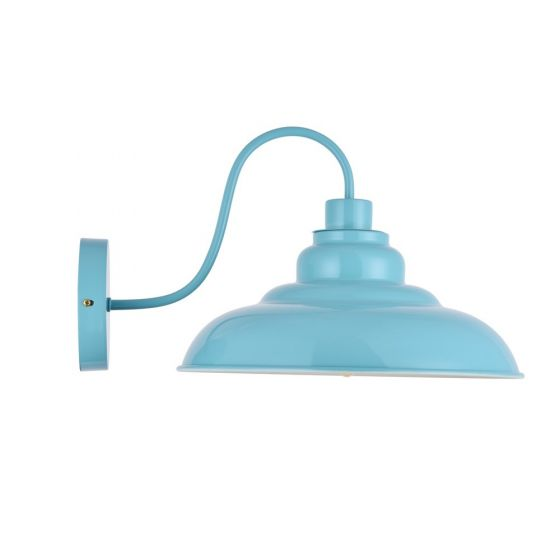 Turquoise Wall Light