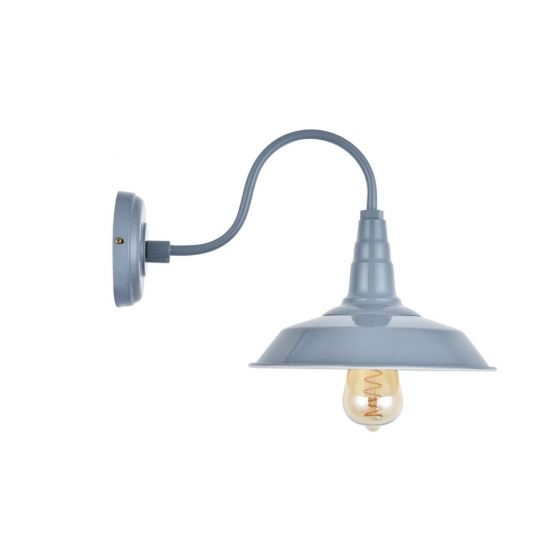French Grey Wall Light