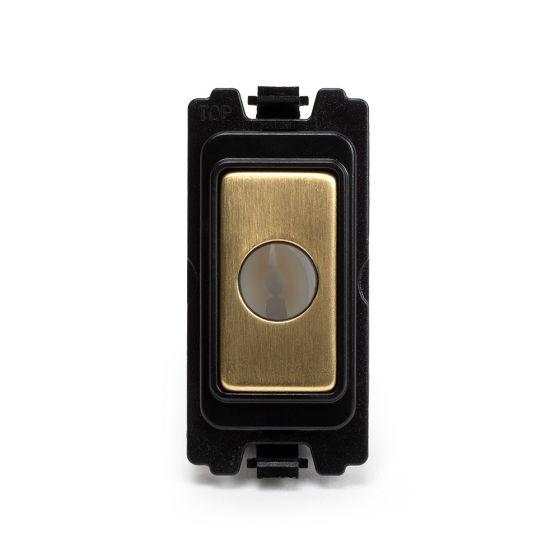 Soho Lighting Brushed Brass Flex Outlet Grid Module