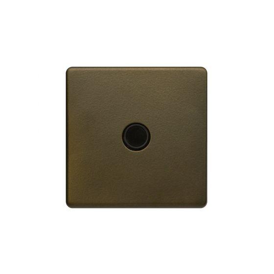 The Eton Collection Bronze 20A Flex Outlet Screwless