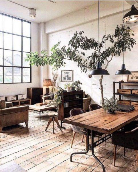 Industrial Living Room Ideas Soho, Industrial Living Room