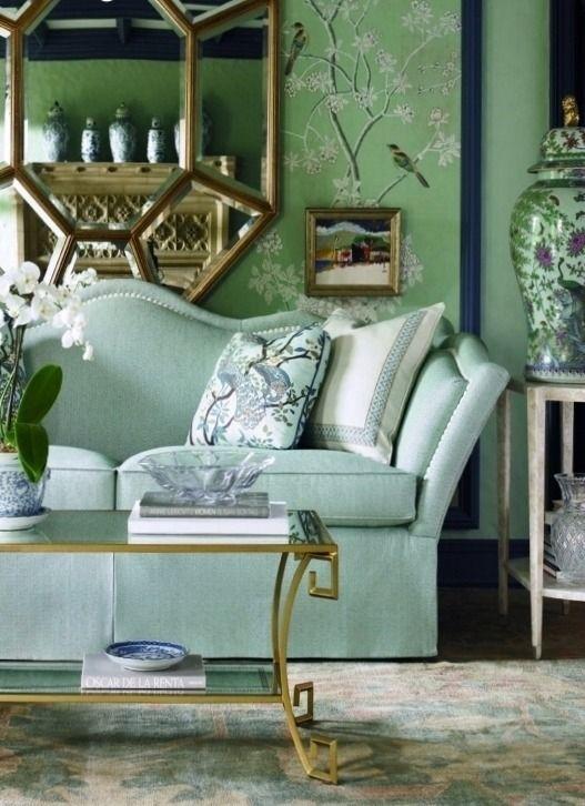 mint green living room ideas