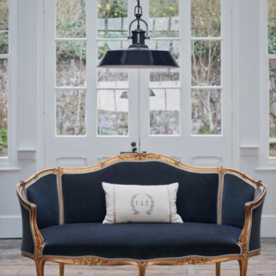 Navy Blue Home Interior Design Ideas