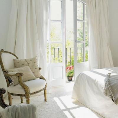 White Interiors Living Room Design Ideas