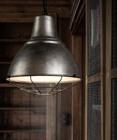 industrial chic lighting living room kitchen interior design decor