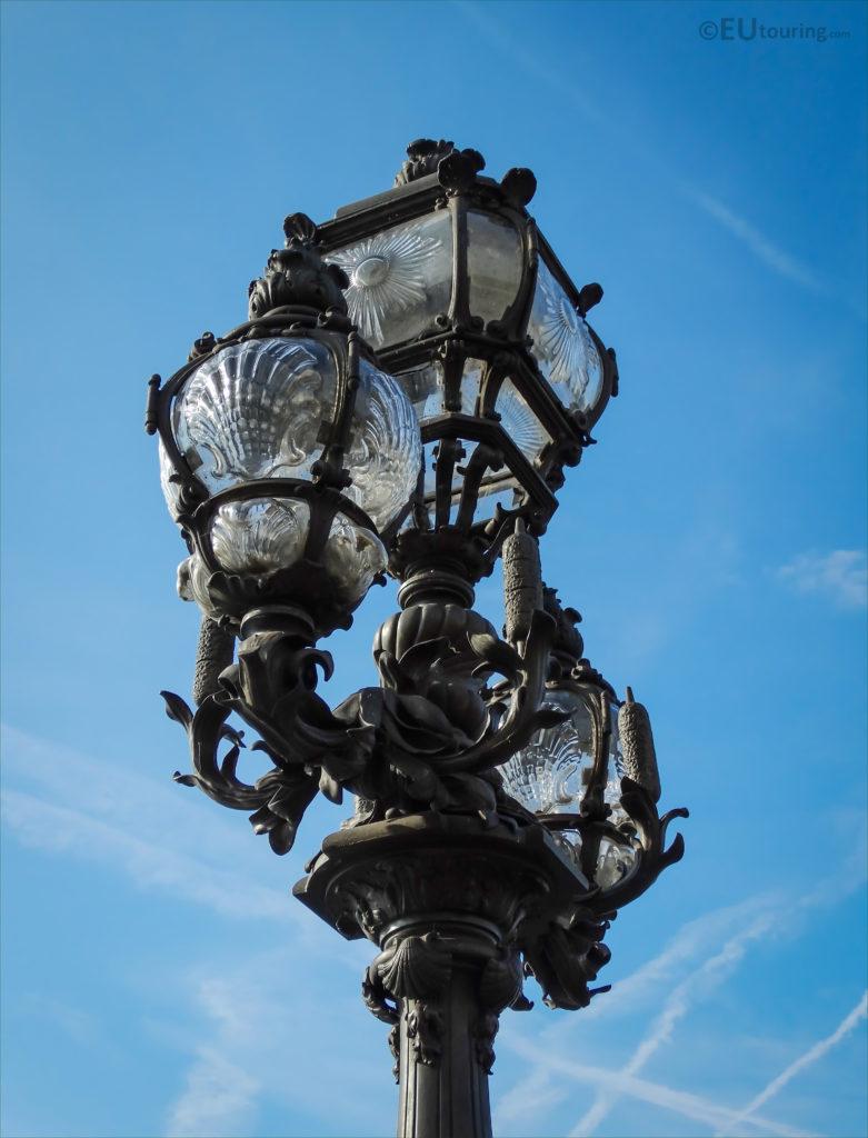 street lamps pont Alexandre III