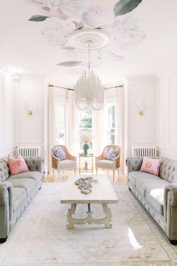 feminine interior design ideas
